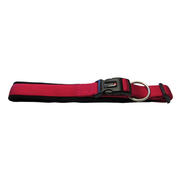 Wolters Hundehalsband Professional Comfort -himbeer / schwarz-