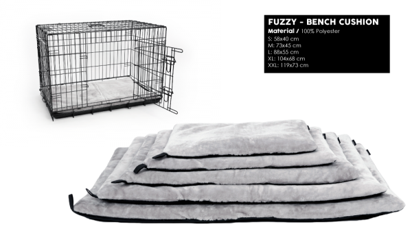 51DN Fuzzy Bench Cushion