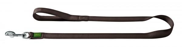 Hunter Führleine Nylon 110cm/1,5cm braun