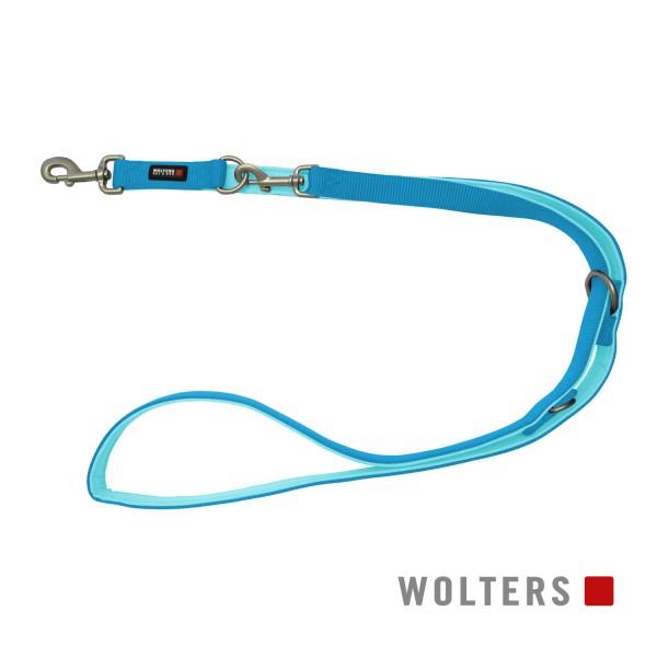 Wolters Hundeleine Professional Comfort -aqua / azur