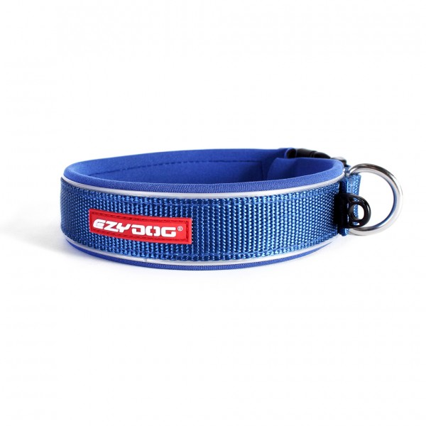 EzyDog Neo Classic Hundehalsband - blau