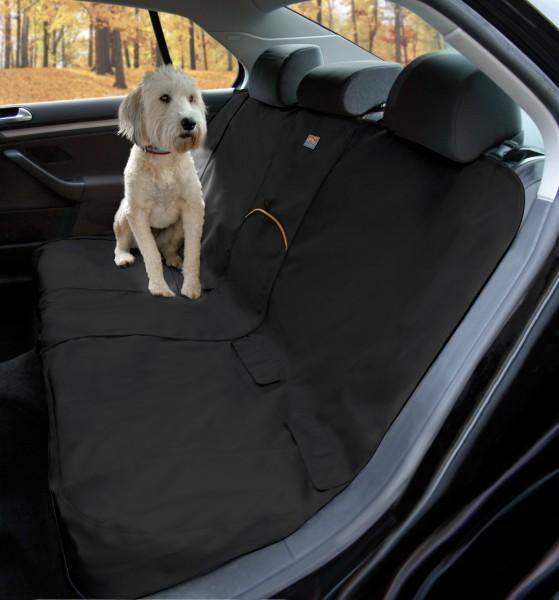 Kurgo Bench Seat Cover Schutzabdeckung Rücksitzbank - schwarz
