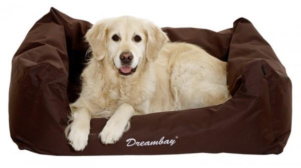 Hundebett Dreambay -dunkelbraun-