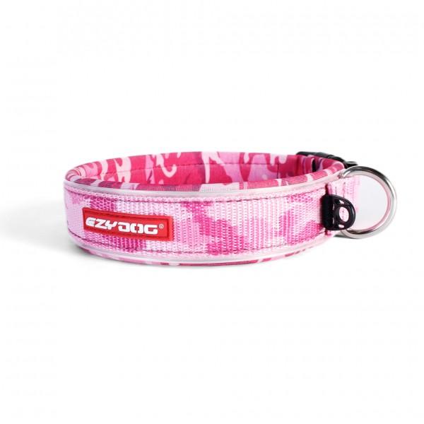 EzyDog Neo Classic Hundehalsband - pink camo