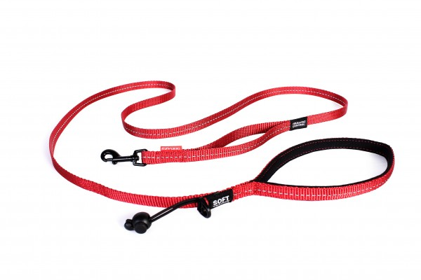 EzyDog Soft Trainer Light Leine - rot