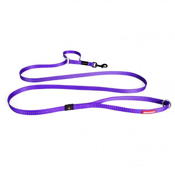 EzyDog Vario 4 Multifunktionsleine Lite- purple