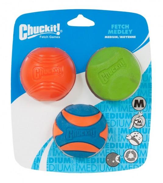 Chuckit! Fetch Medley Gen. 2 - 3-PK M