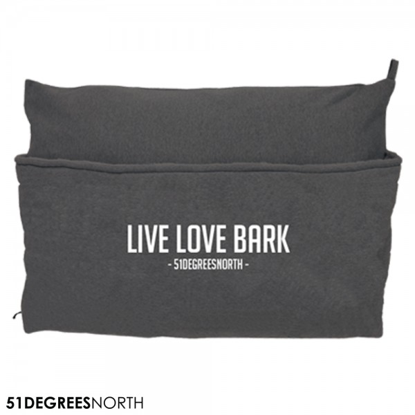 51DN Sweater Hundekissen Pillowbag - Dark Grey