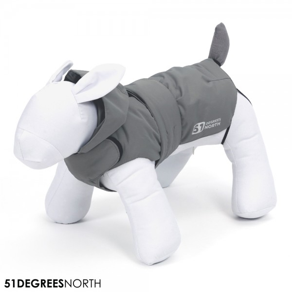 51DN Storm Regenjacke Imperial Grey