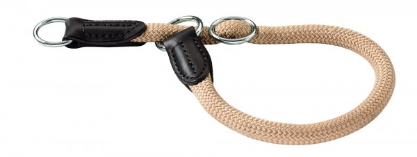 Hunter Tau-Hundehalsband Freestyle -beige-