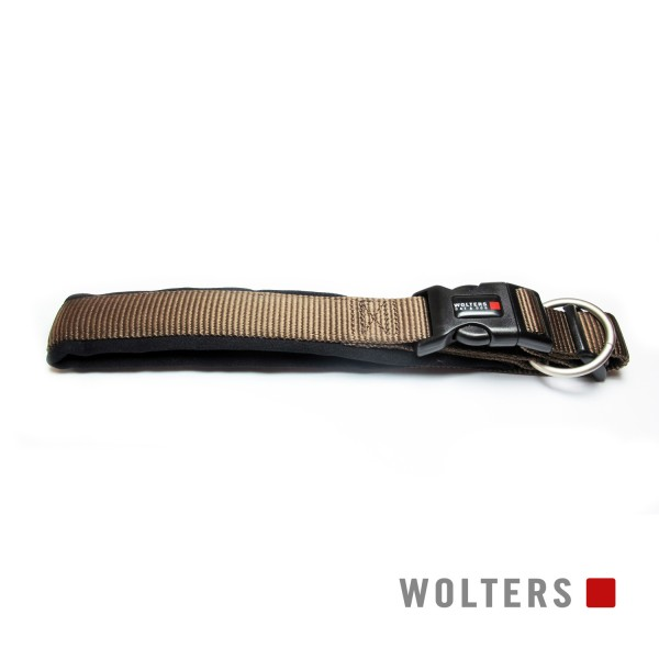 Wolters Hundehalsband Professional Comfort -tabac/ schwarz-