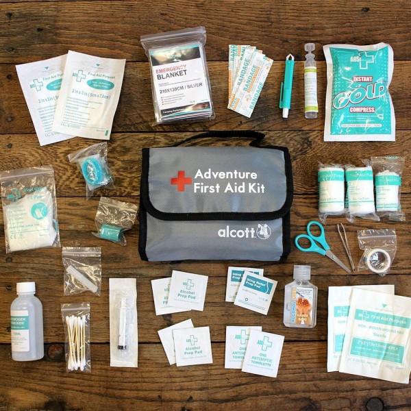 alcott Erste Hilfe Set - 47 Teile
