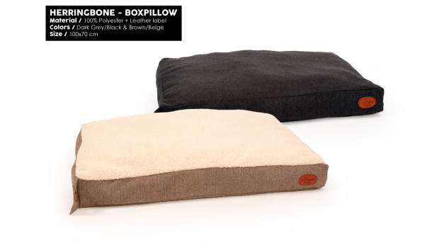 51DN Herringbone Boxpillow