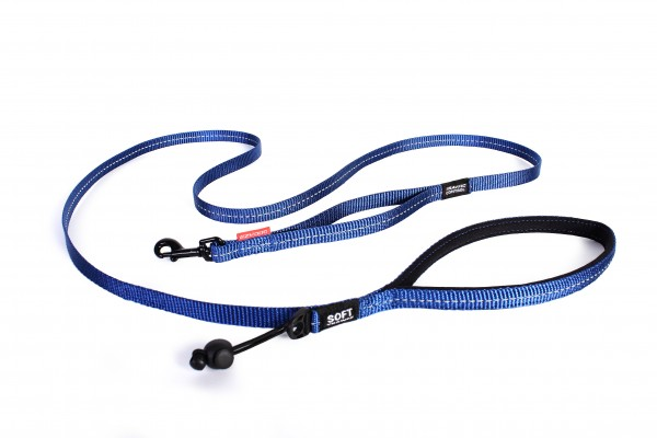 EzyDog Soft Trainer Light Leine - blau