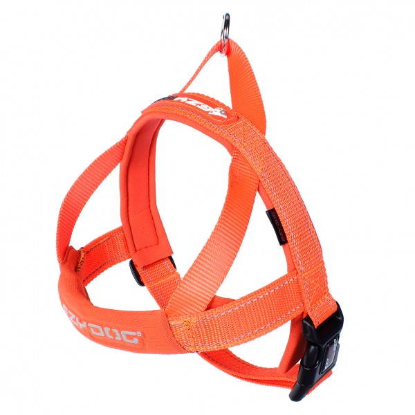 EzyDog Quick Fit Hundegeschirr - orange