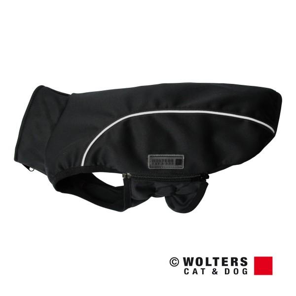 Wolters Softshell Jacke Basic -schwarz/reflektierend