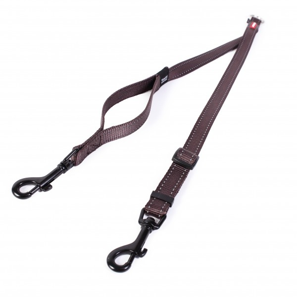 EzyDog Soft Trainer Koppel - chocolate