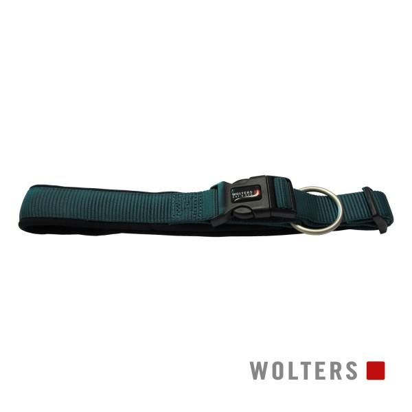 Wolters Hundehalsband Professional Comfort -petrol/ schwarz-