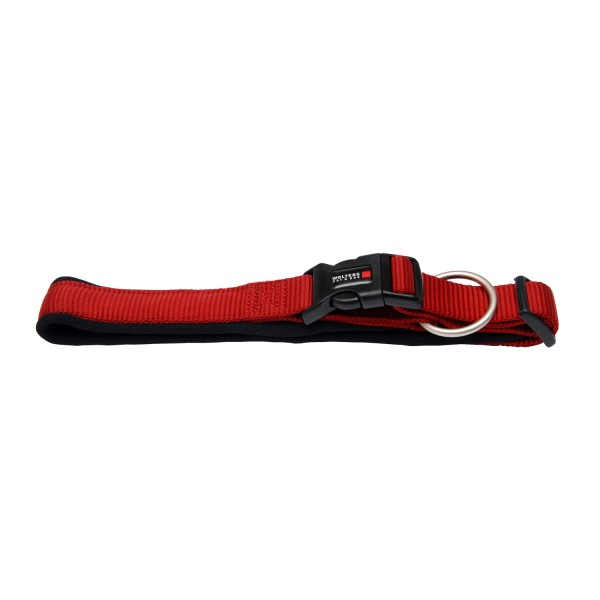 Wolters Hundehalsband Professional Comfort -rot / schwarz-