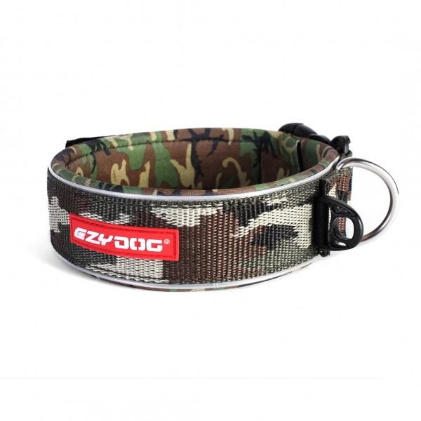 EzyDog Neo Wide Hundehalsband Extrabreit - camo