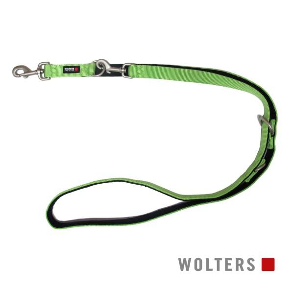 Wolters Hundeleine Professional Comfort -kiwi / Schwarz