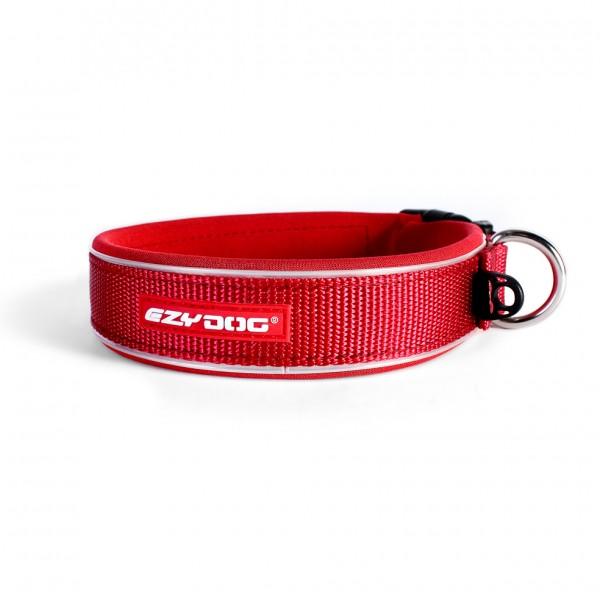 EzyDog Neo Classic Hundehalsband - rot