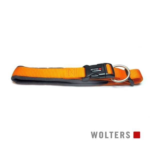 Wolters Hundehalsband Professional Comfort -mango/ schiefer-