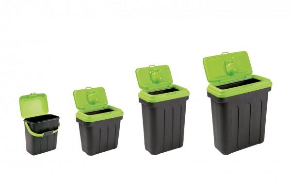 Maelson Dry Box -schwarz / grün- Vorratsbehälter für Trockenfutter