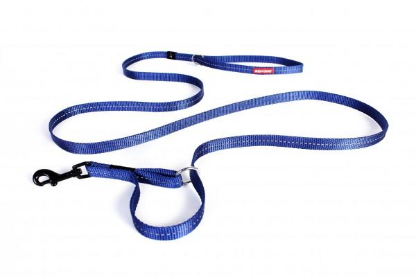 EzyDog Vario 4 Multifunktionsleine Lite- blau