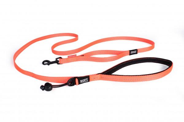 EzyDog Soft Trainer Light Leine - orange