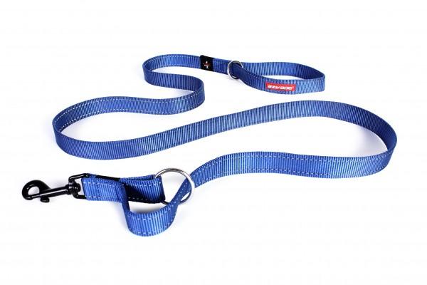 EzyDog Vario 4 Multifunktionsleine - blau
