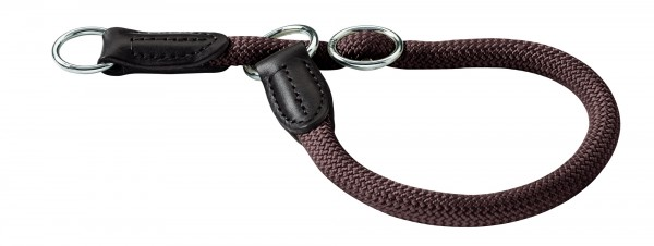 Hunter Tau-Hundehalsband Freestyle -braun-