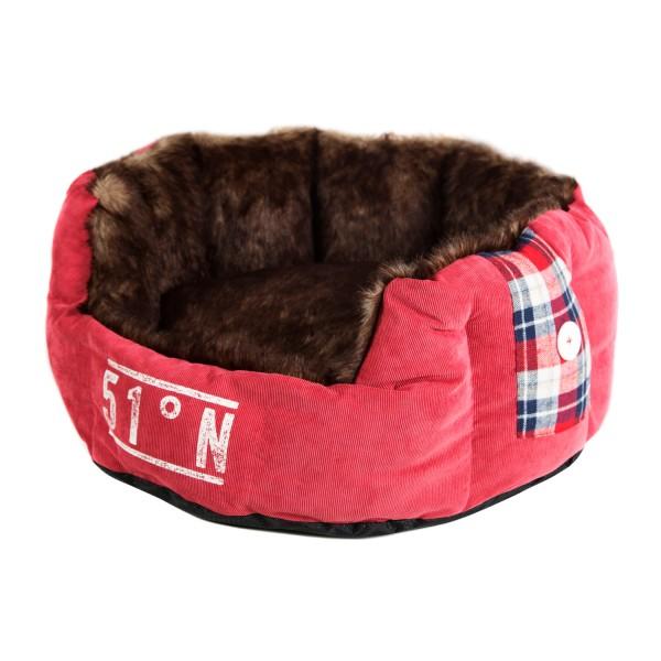 Surplus 51 Lumberpet Soft Bed - hellrot