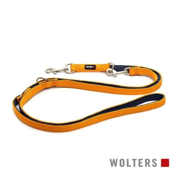 Wolters Hundeleine Professional Comfort -mango / Schiefer