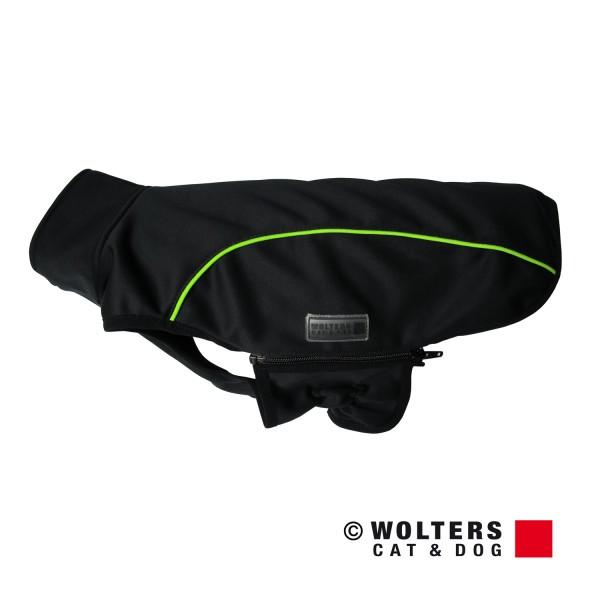 Wolters Softshell Jacke Basic - schwarz/limone -