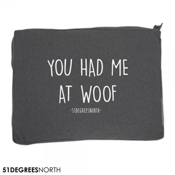 51DN Sweater Hundekissen Dark Grey