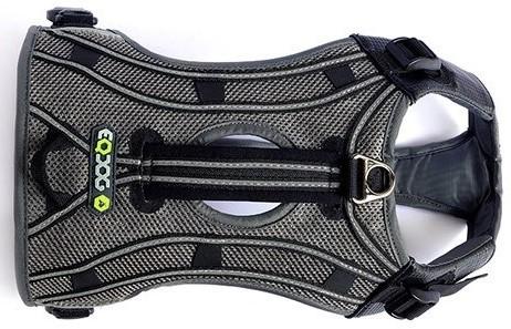 EQDOG Pro Harness Hundegeschirr - grau reflektierend