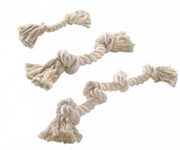 Hundespielzeug Baumwollknoten Natur