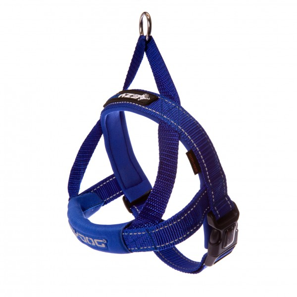 EzyDog Quick Fit Hundegeschirr - blau