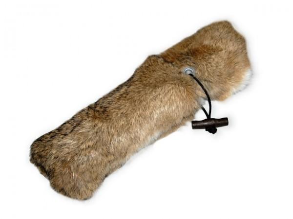Firedog Dummy full fur - Kaninchenfelldummy