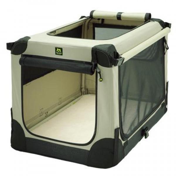 maelson soft kennel faltbare hundebox beige hundebox. Black Bedroom Furniture Sets. Home Design Ideas