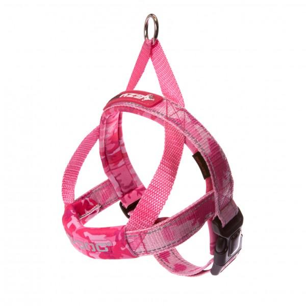 EzyDog Quick Fit Hundegeschirr - pink camo