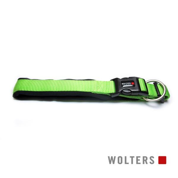 Wolters Hundehalsband Professional Comfort -kiwi/ schwarz-
