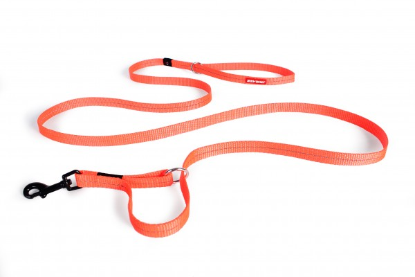 EzyDog Vario 4 Multifunktionsleine Lite- orange