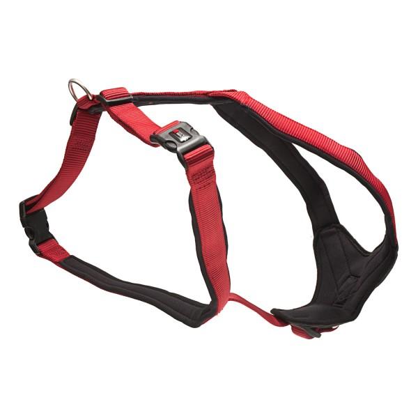 Wolters Professional Comfort Hundegeschirr -rot / schwarz-
