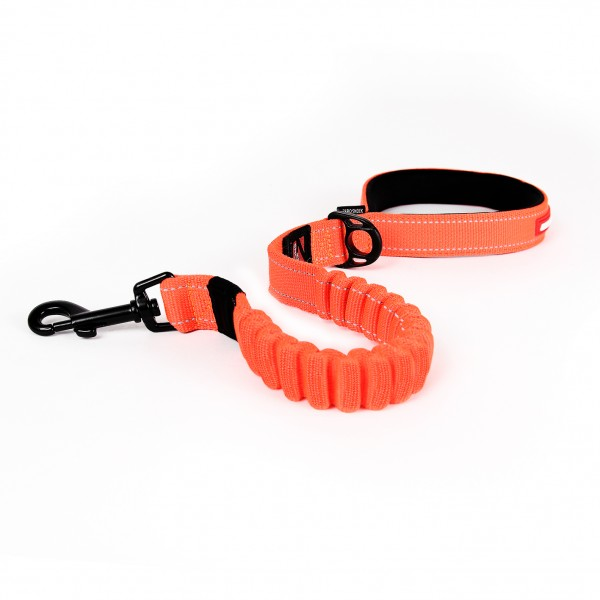 EzyDog Zero Shock Leine - orange