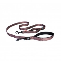 EzyDog Soft Trainer Hundeleine - chocolate