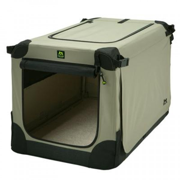 Maelson Soft Kennel Faltbare Hundebox Beige Hundebox